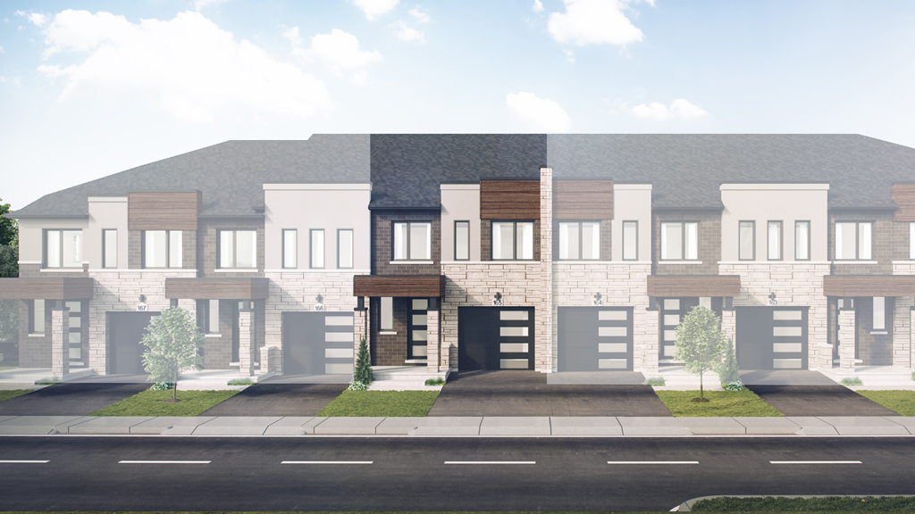 The Gilbert Two Storey Towns at Chedoke Heights