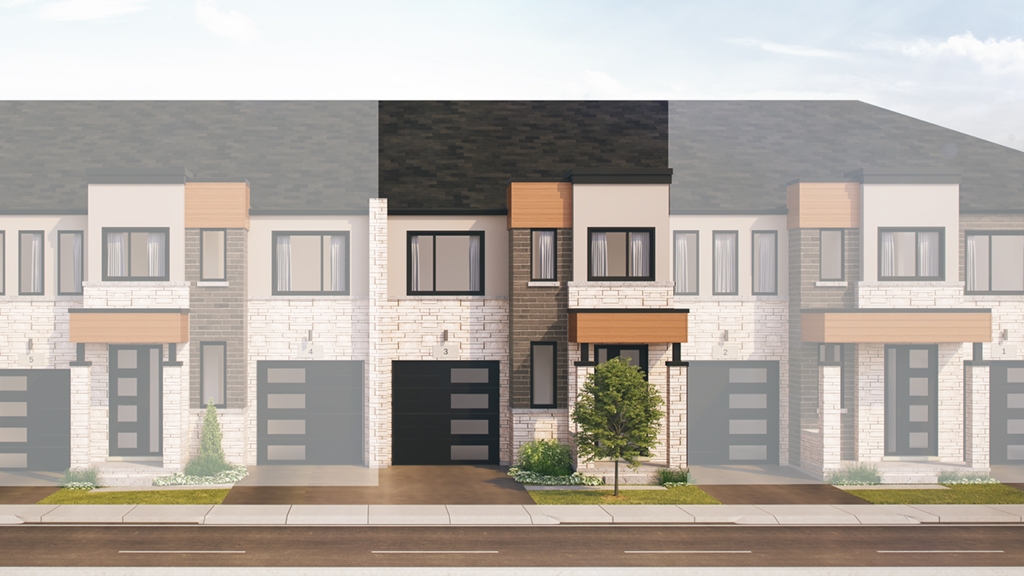 Rolston Two Storey Towns at Chedoke Heights